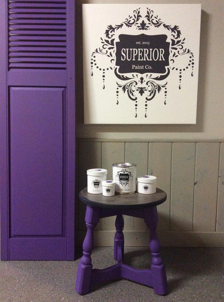 beautiful mozaic violet painting interior doors | NEW 2018 Superior Paint Co. Colour Of The Year! | Trending ...