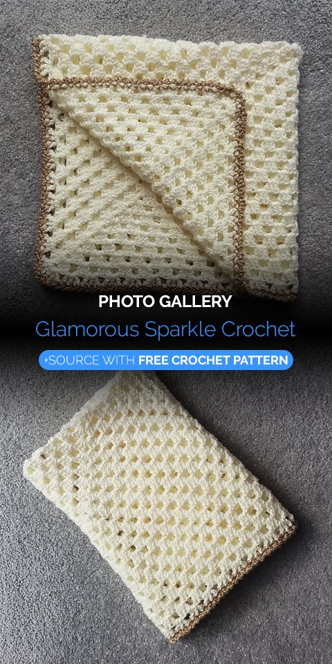 Glamorous Sparkle Blanket Crochet   Maggie\'s Crochet - All About ...