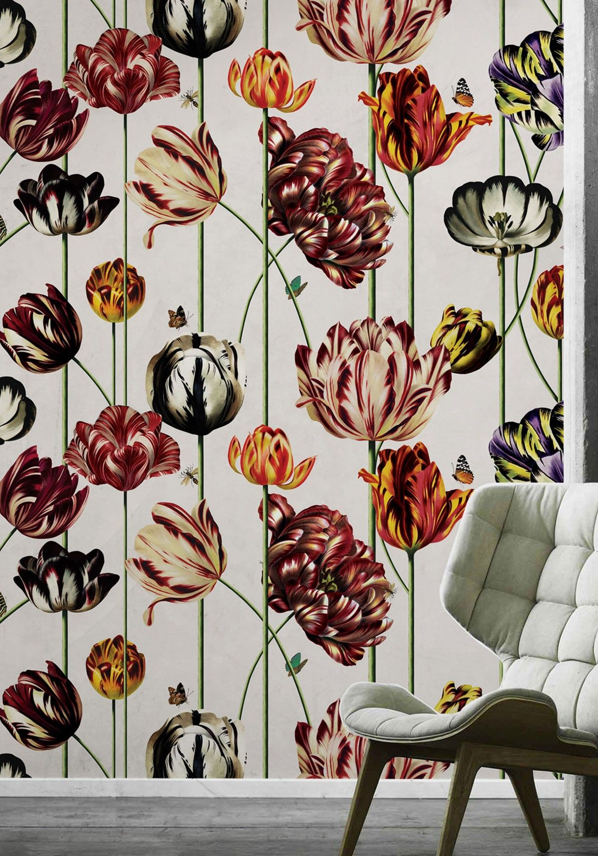 Tulipa Two Rolls Wallpaper Kingdom Home For The House