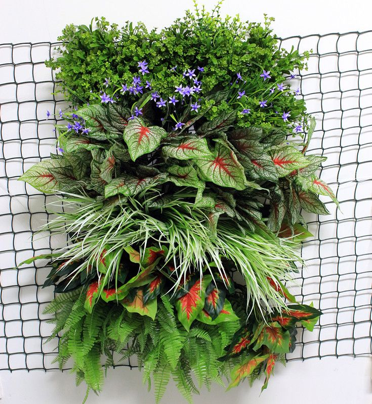 Diy artificial green wallsvertical garden artificial