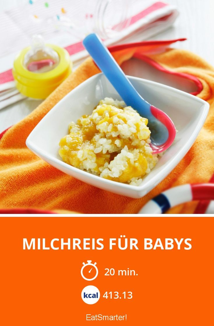 Milchreis Baby
