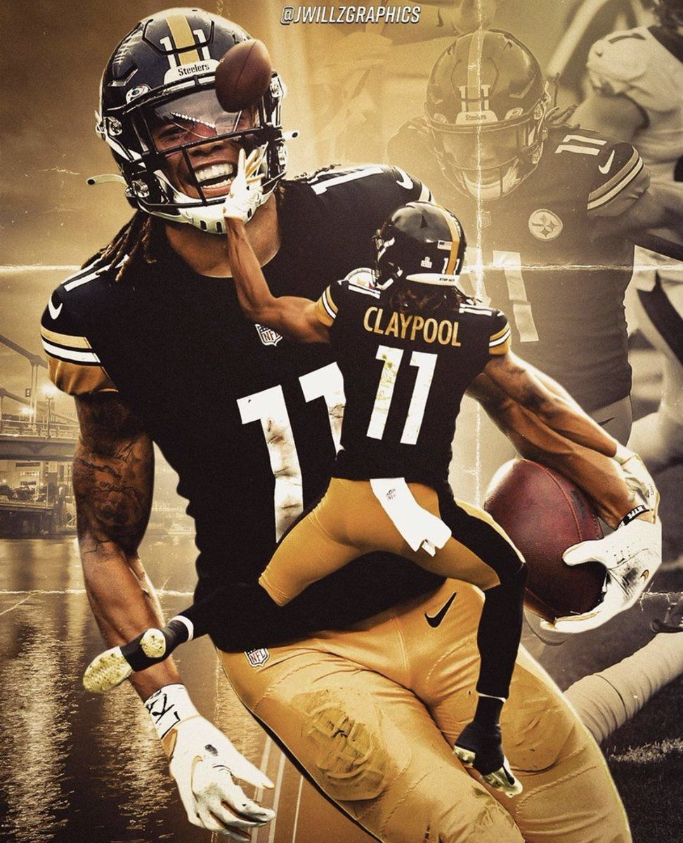 Chase Claypool Wallpaper For Mobile Phone Tablet Desktop Computer And Other Devices Hd And 4k In 2021 Nfl Football Art Pittsburgh Steelers Players Pittsburg Steelers