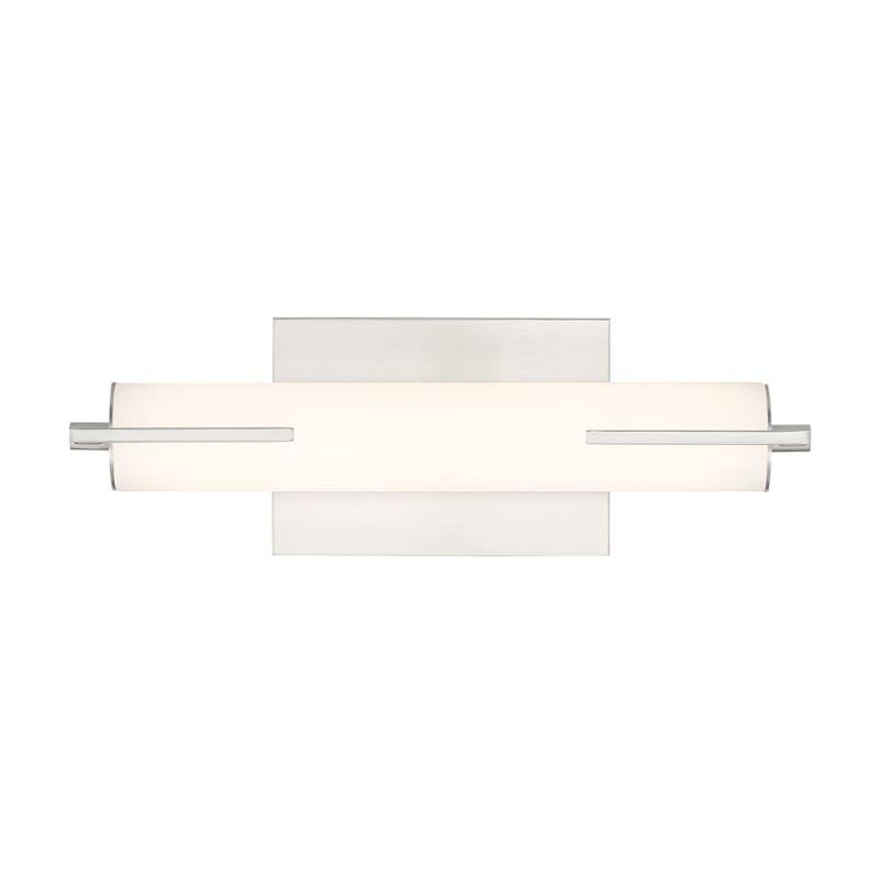 "Photo of Miseno ML99374 16 ""wide LED bath bar brushed nickel interior lighting bathroom fittings bath bar"