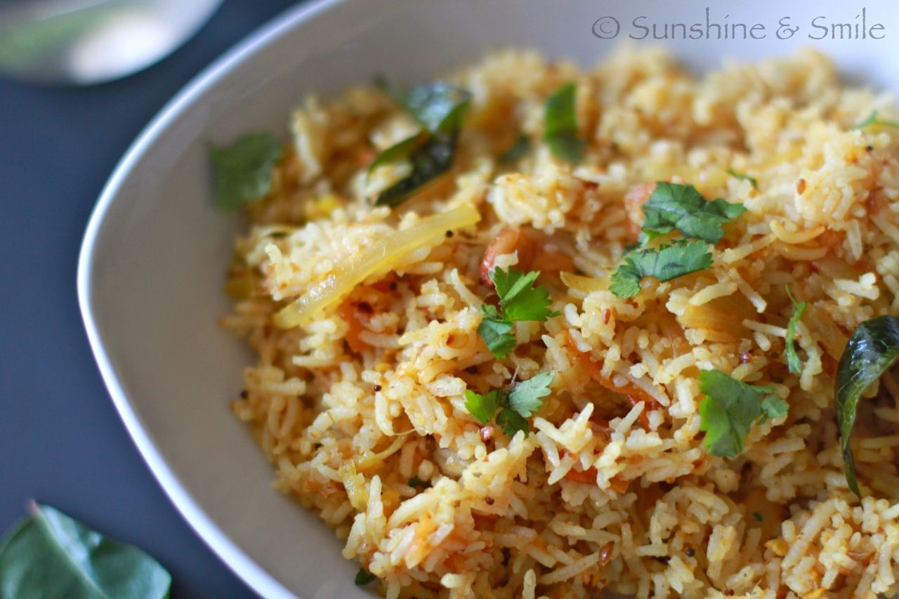 Tomato Rice Easy One Pot Rice Meal Recipe One Pot Rice Meals Tomato Rice Rice Dishes