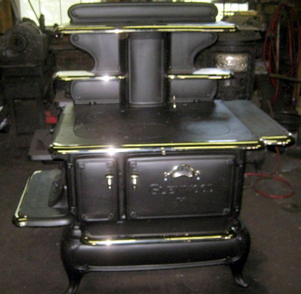 Glenwood Kitchen: Single Oven Glenwood K Wood And Coal Antique Cook Stove