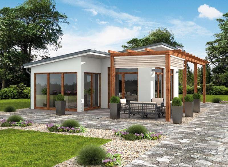 Projekt Budynku Gospodarczego Kl10 Kuchnia Letnia Bud Gospodarczy Wycena Budowy Projekty Domow House Outer Design Small House Design Plans Village Houses