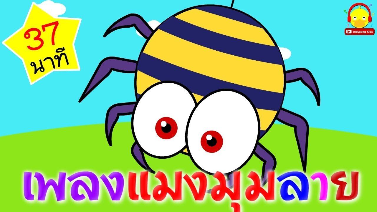 เพลงแมงม มลาย เพลงเด กอน บาล 37 นาท Itsy Bitsy Spider เพลงเด ก Ind การ ต น เพลง เป ด