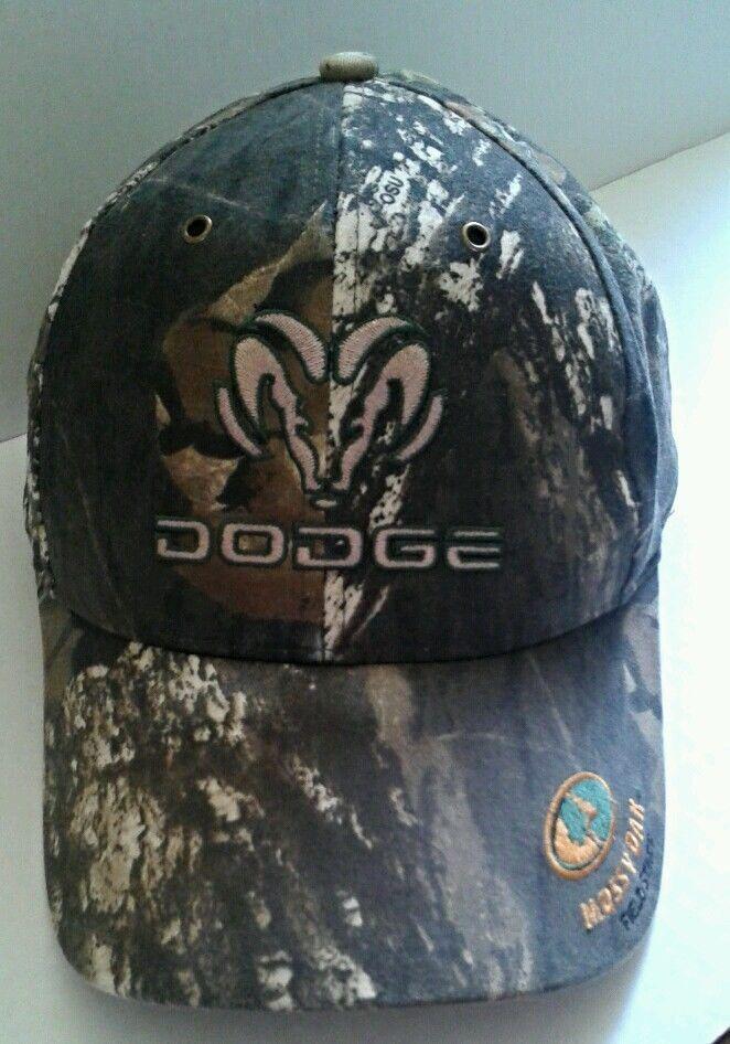 1c27af88a Dodge Ram Mossy Oak Baseball Hat CAMO Camouflage Adjustable size ...