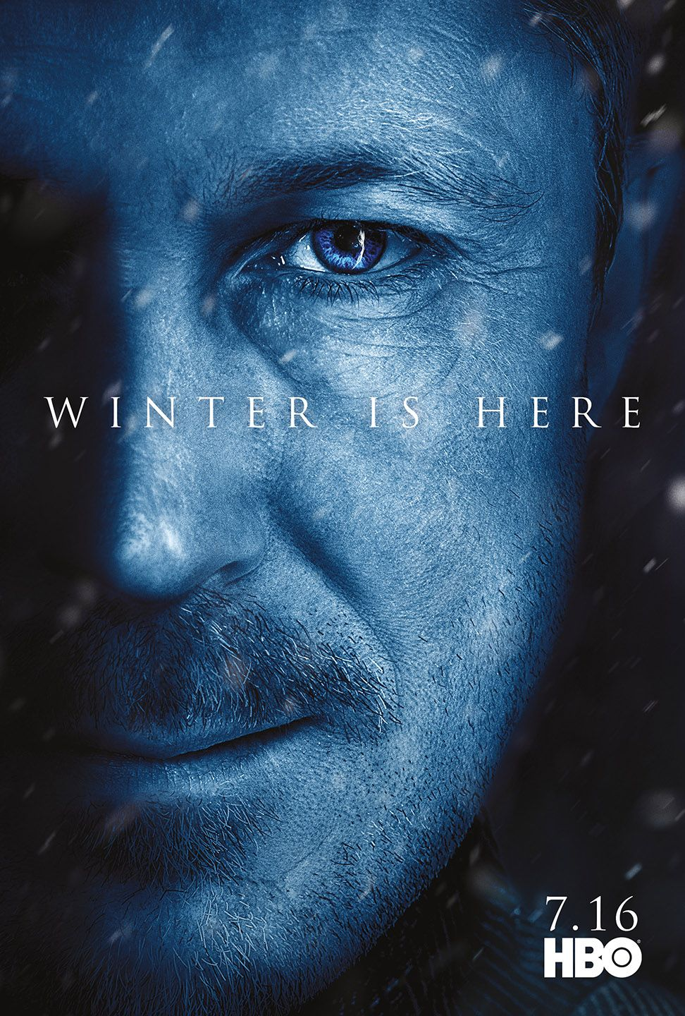 In Addition To Giving Us A Brand New Trailer Hbo Has Gone Above And Beyond And Released 12 New Character Posts For Game Of Th Hbo Theon Greyjoy Winter Is Here