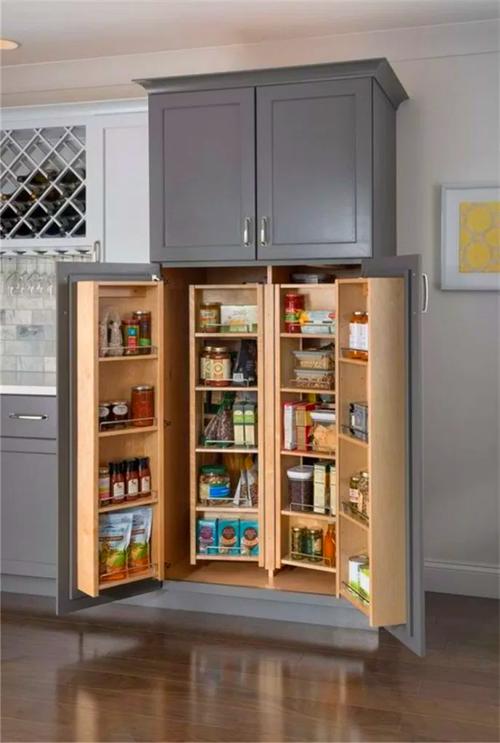 Farmhouse Kitchen Tall Kitchen Cabinets Kitchen Cabinets Grey Kitchen Designs