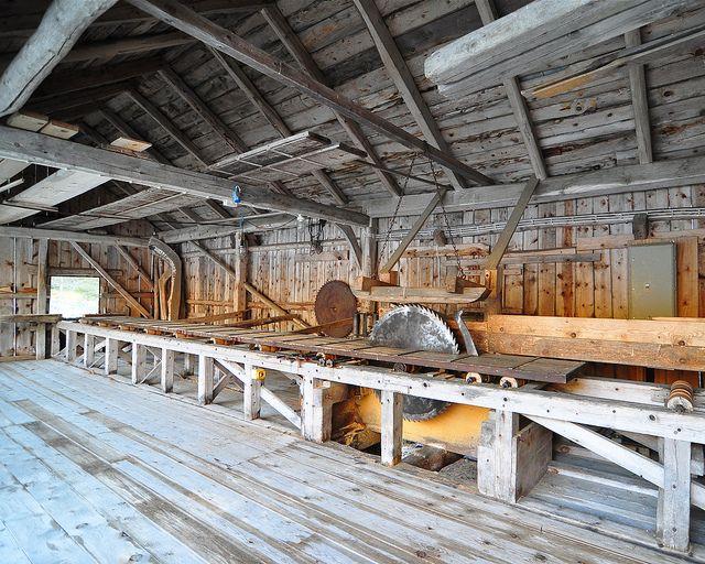 Old Sawmill Sawmill Lumber Mill Sawmill Lumber