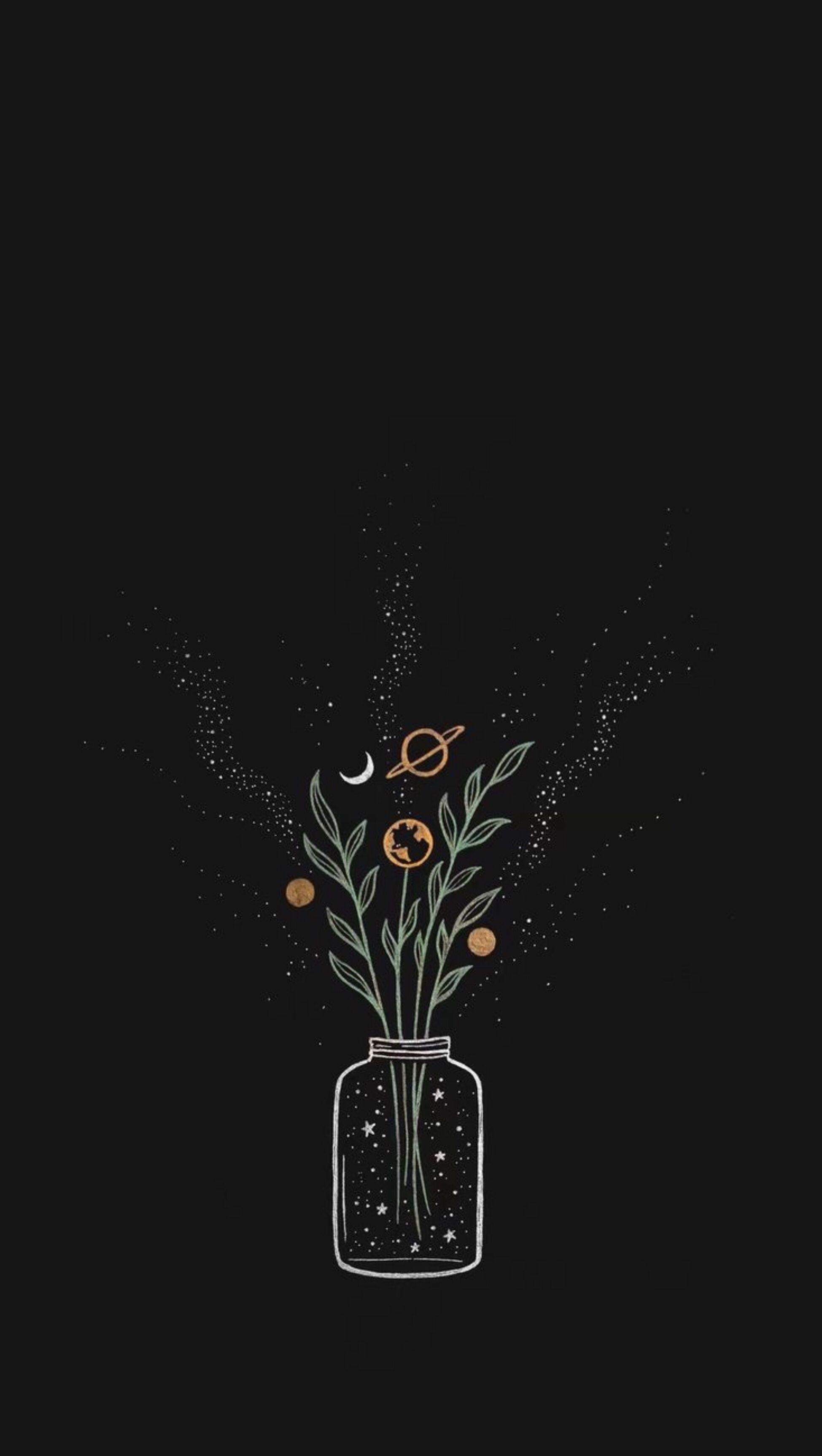 Pin By Atousa On Fondos Black Aesthetic Wallpaper Aesthetic Pastel Wallpaper Iphone Background Wallpaper