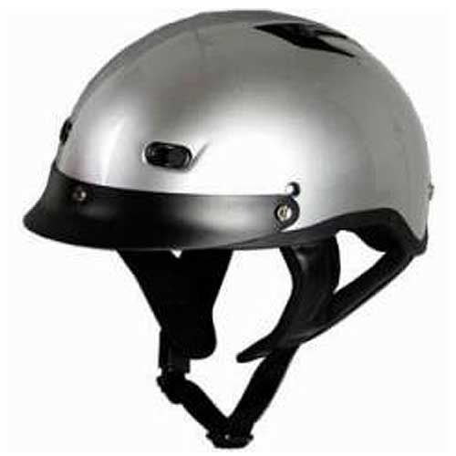 Vented Shorty Motorcycle Beanie Helmet Choose Your Own Color