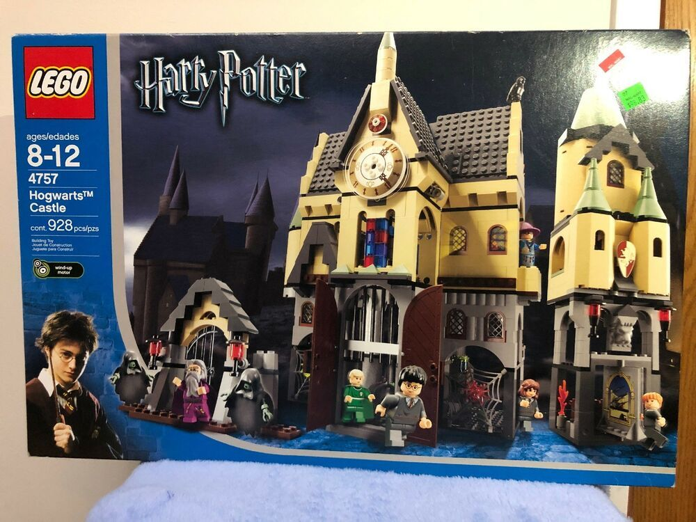 Lego 4757 Harry Potter Hogwarts Castle Brand New Factory Sealed Retired Harry Potter Lego Sets Lego Harry Potter Lego Hogwarts