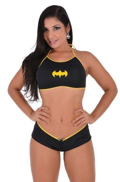 546026603 Mini Fantasia Bat Girl Pimenta Sexy