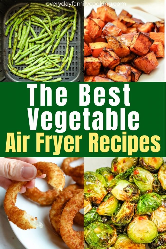 How to make air fryer vegetables that are healthy. These