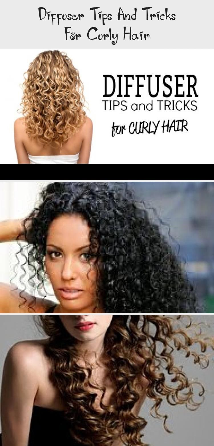 Diffuser Tips And Tricks For Curly Hair Hair Care In 2020 Curly Hair Styles Hair Diffuser Wavy Hair Diy