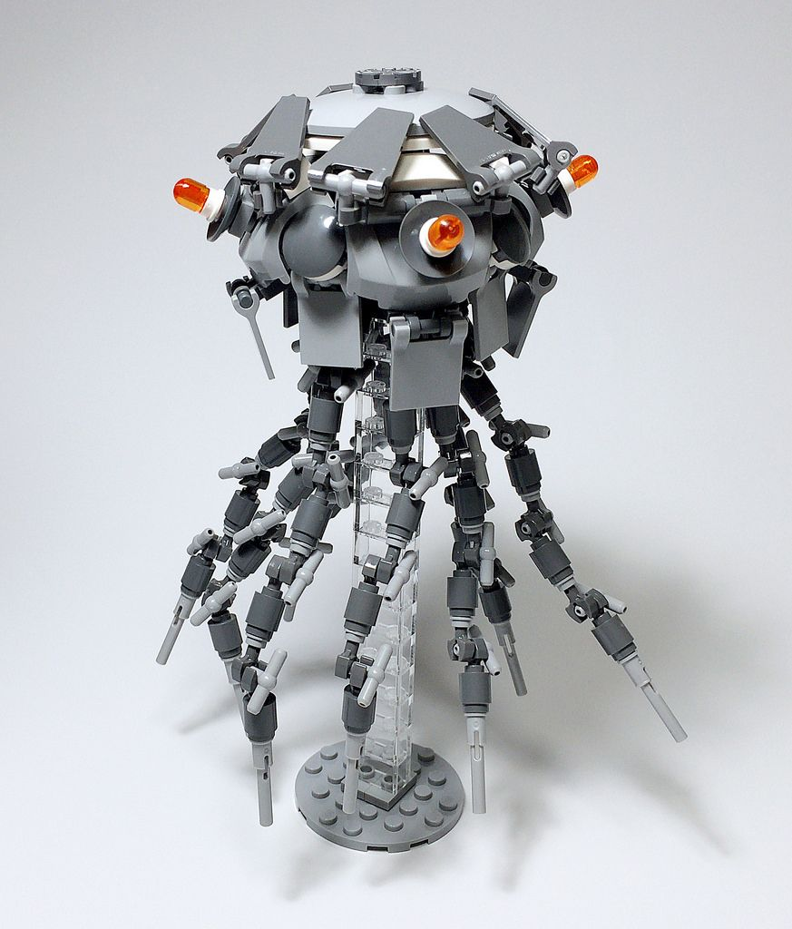 how to make a micro lego jellyfish