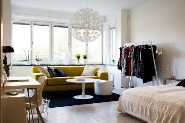 Einzimmerappartement Einrichten grosse ideen für kleine wohnungen ikea kleine