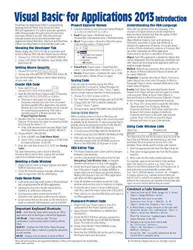 visual studio 2012 shortcuts cheat sheet