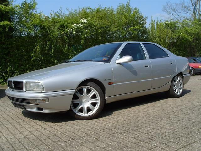 Maseratie IV Evolutione with V8 3,2 lit from 1999
