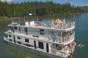 California Lake Shasta Houseboat Rentals Houseboat Pinterest