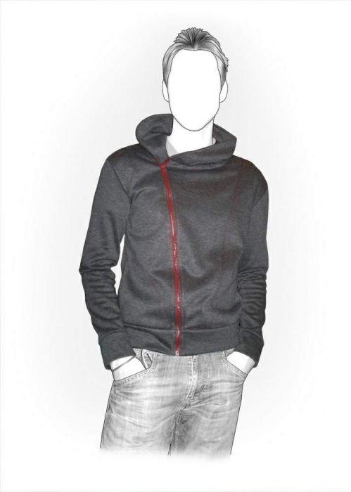Sweat-shirt - Patrons de couture #6131 | Couture habits adultes ...