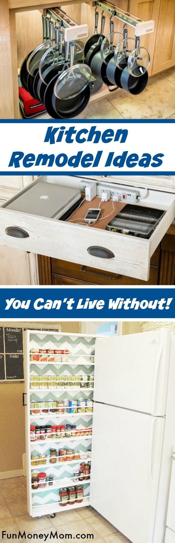 11 Incredibly Smart Organizing Ideas For Your Kitchen Remodel ...