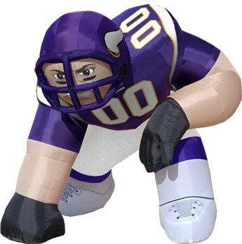 191cc30279f Huge 5' NFL Minnesota Vikings Lineman Inflatable Outdoor Yard Decoration by  DII. $139.44. Inflatable Minnesota Vikings Football Player Item #05-0043Get  ...