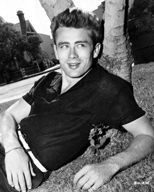 James Dean : Actor - TV, Stage and Movies  (B. Feb 8, 1931; Marion, Indiana - D: Sep 30, 1955, Cholame, CA)