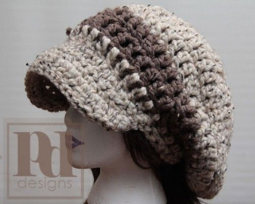 Pdf Pattern Xl Chunky Slouchy Hat Easy Slouchy Hat Pdf And Crochet