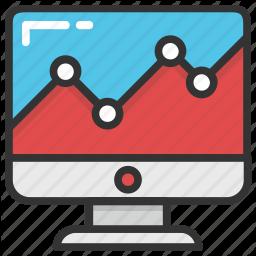 Adwords Online Graph Web Analytics Web Ranking Web Rating Icon Free Icon Set Web Analytics Adwords