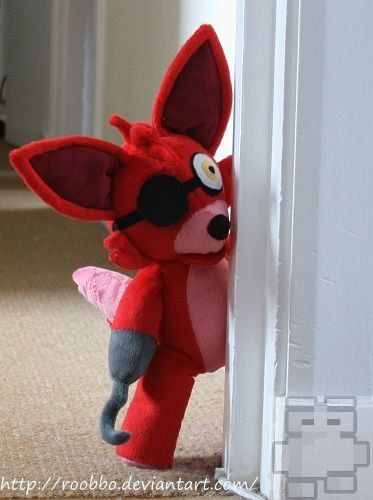 Five Nights At Freddy's Foxy Plush by Roobbo on Etsy