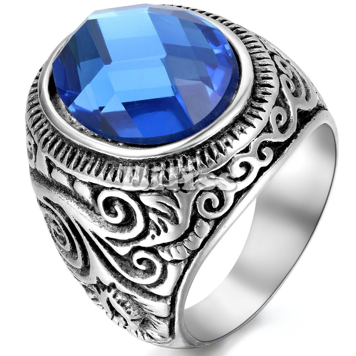rings red proposal blue couple stainless steel are silver products promise roses