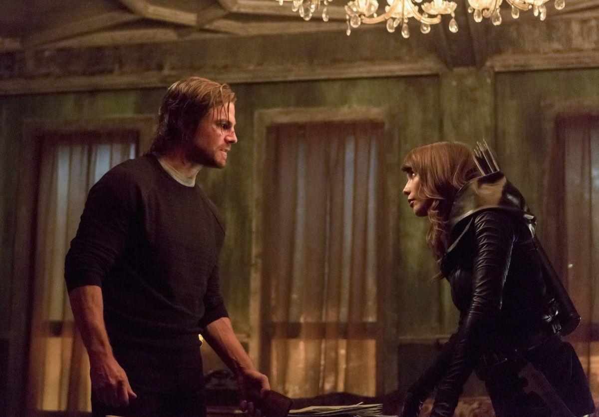 Arrow Season 5 Episode 11: First Photos of Lexa Doig as Talia Al