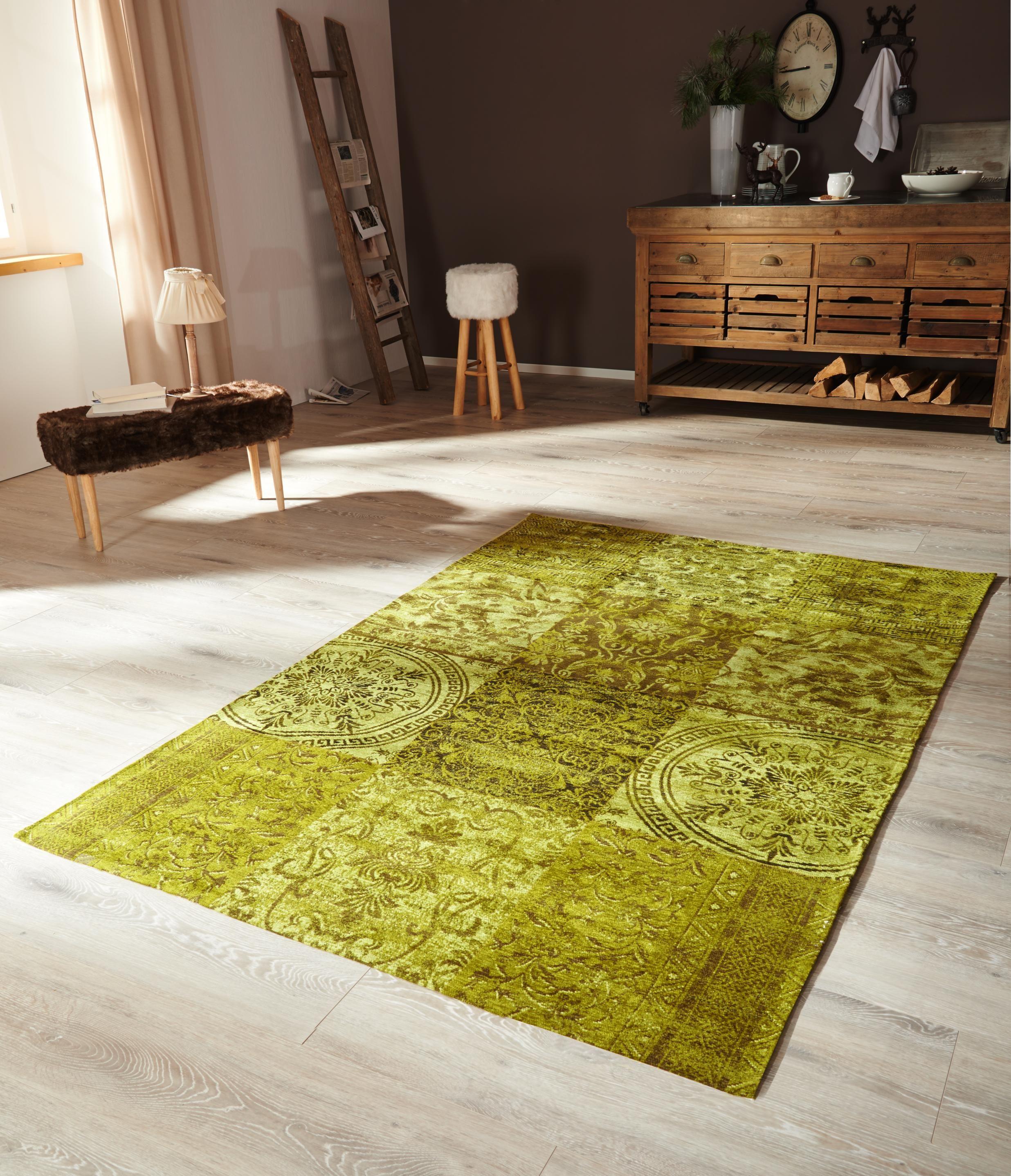 Grüner teppich günstig  Vintage-teppich | Pinterest | Grüner teppich, Teppiche und Parkett ...
