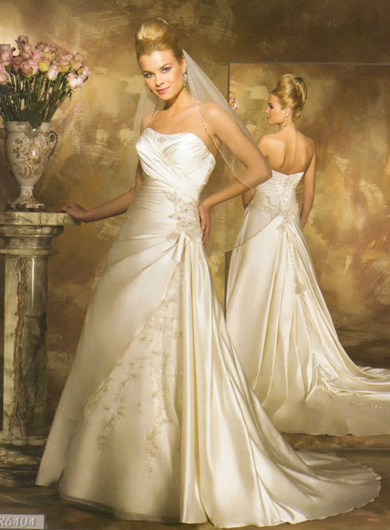 Designer wedding gowns at the bridal boutique of naperville
