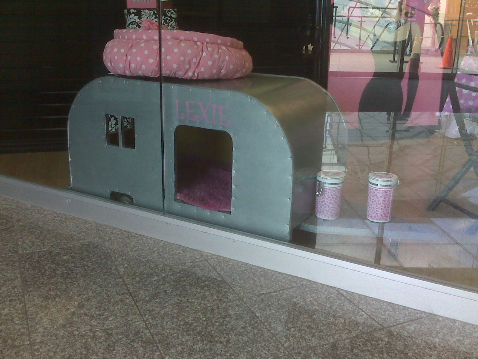 Trailer Dog House dog bed dog house trailer airstream | dogs | pinterest | dog
