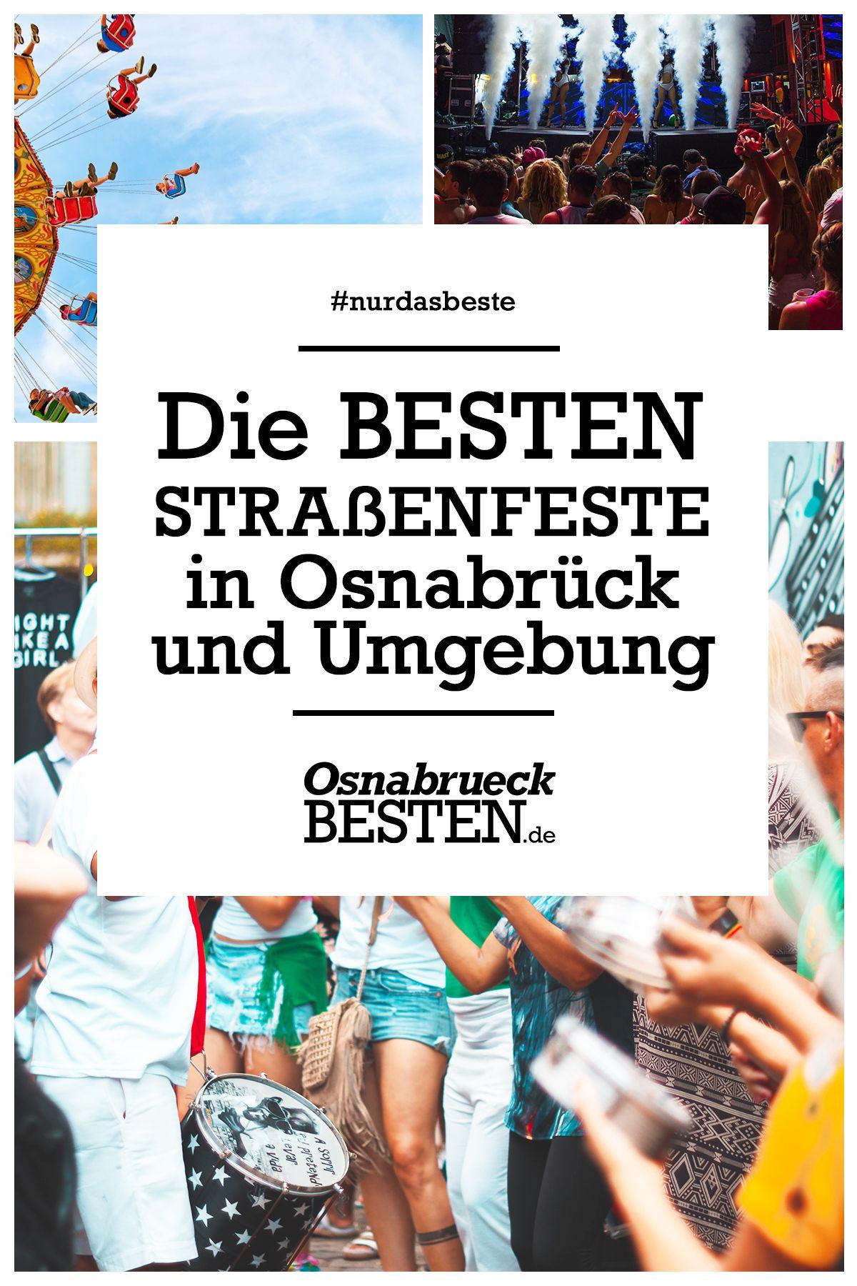 Die Besten Strassenfeste In Osnabruck Und Umgebung Osnabruck Strasse Ausflug