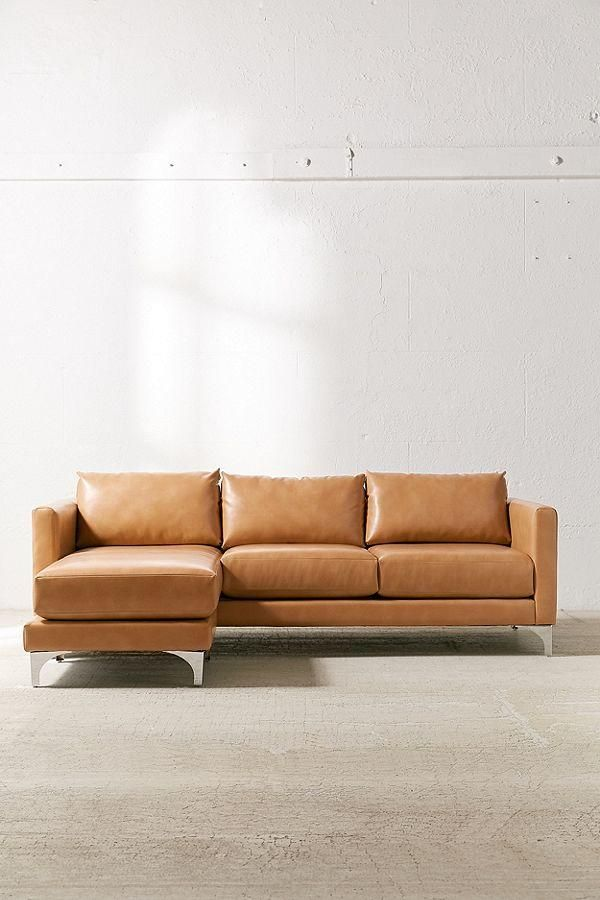 Brown Leather Couch Living Room Inspiration Apartment Furniture