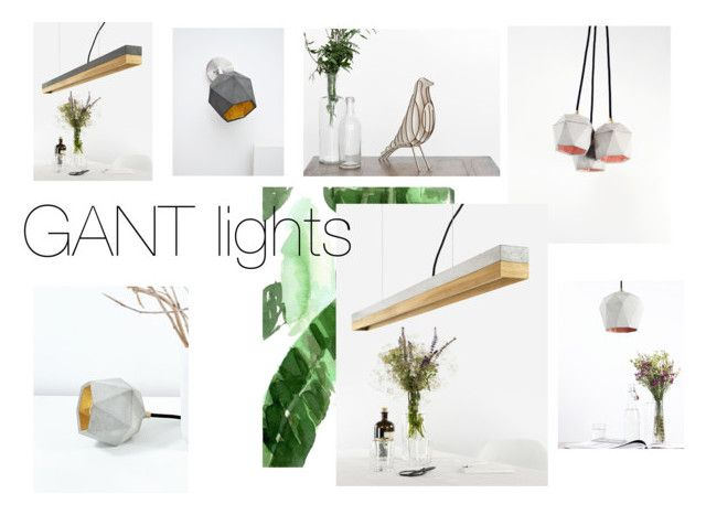 """""""GANT lights"""" by crowdyhouse ❤ liked on Polyvore featuring interior, interiors, interior design, home, home decor, interior decorating, Oliver Gal Artist Co. and contemporary"""