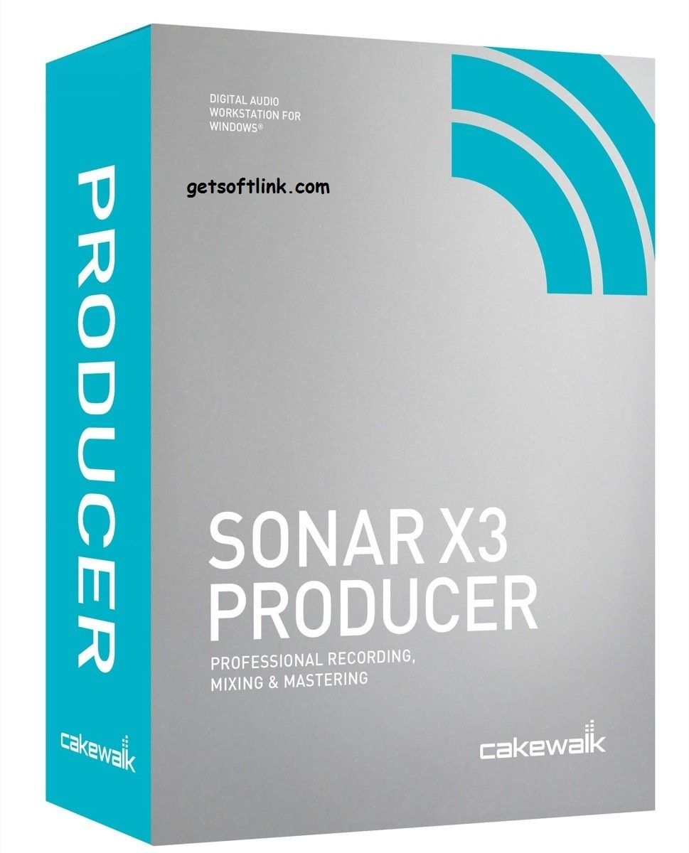 cakewalk sonar x3 producer full crack