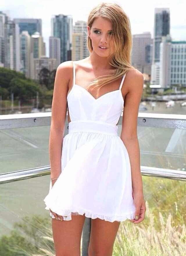e83e097aa5 Cute Little White Dress