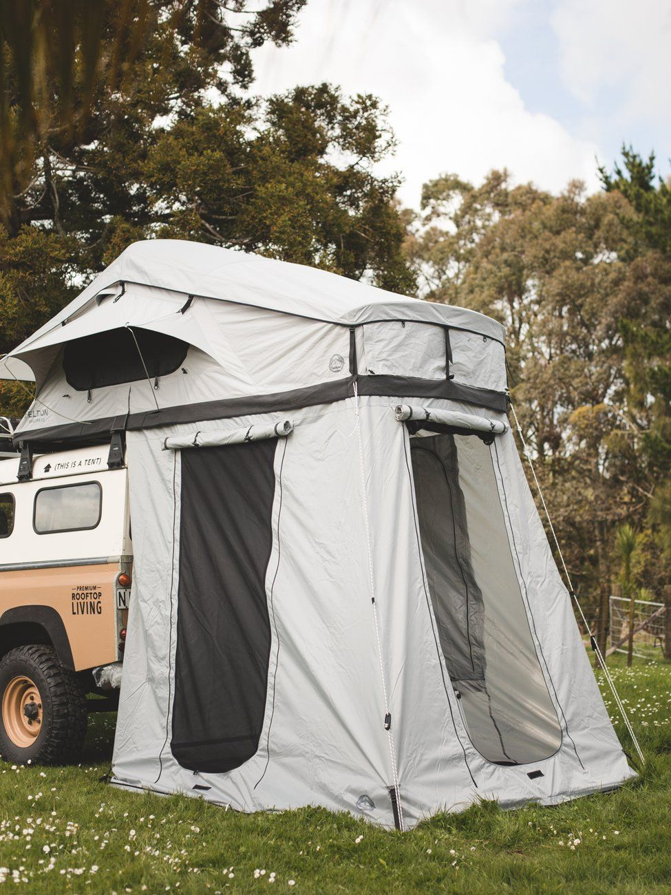 Extended Roof Top Tent Bonus Room Feldon Shelter