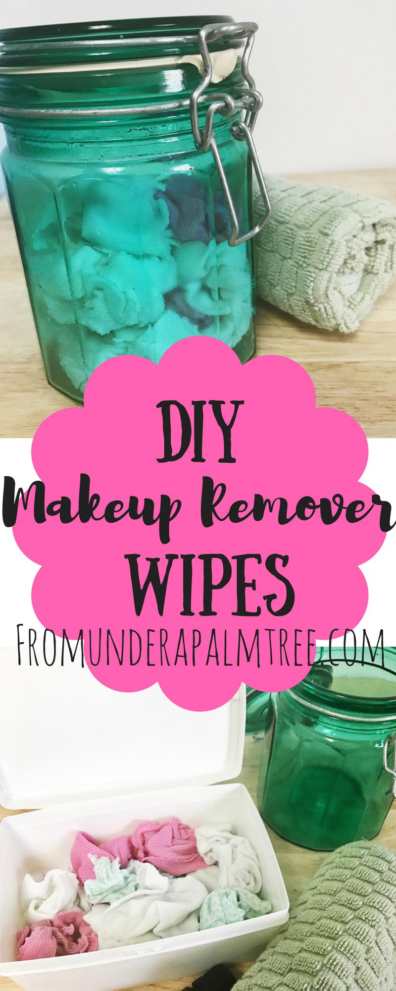 DIY Makeup Remover Wipes Diy makeup remover, Diy makeup