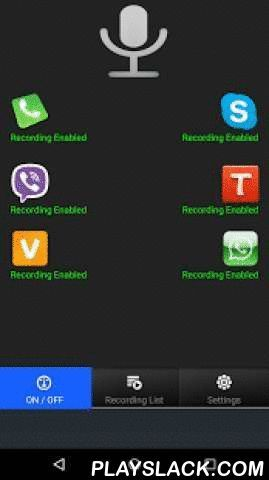 Real Call Recorder Android App - playslack.com , Set your ...