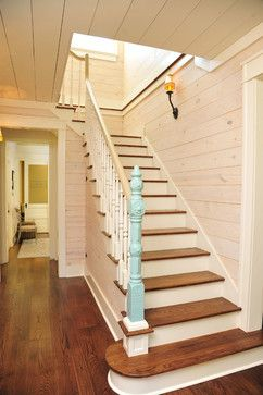 Best Historic Farmhouse Renovation Farmhouse Staircase 640 x 480