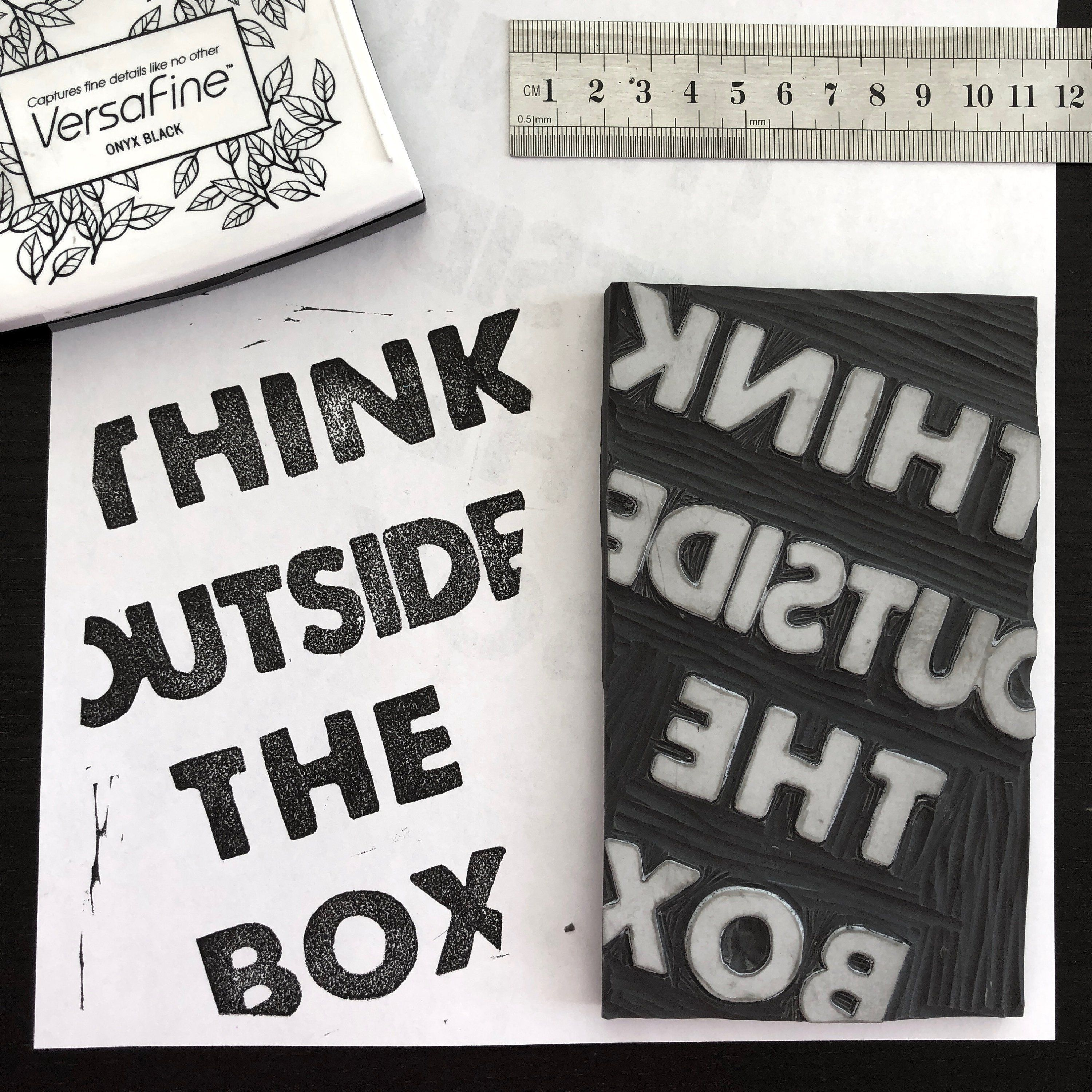 Think Outside The Box A6 Notebook