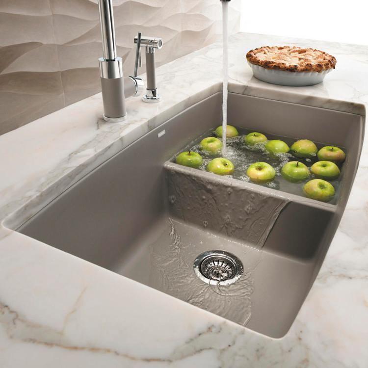 Blanco Performa 33 Quot Medium 1 3 4 Bowl Granite Composite