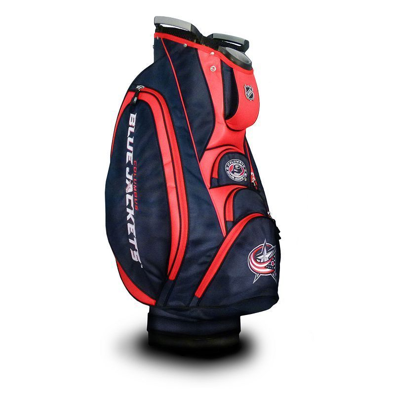 Team Golf Columbus Blue Jackets Victory Cart Bag, Multicolor